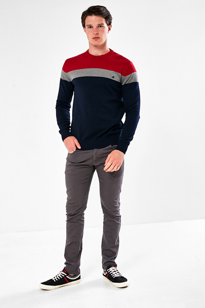 crew stripe jumper